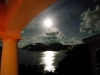 BVI Property Rock Haven - Moon rise makes the bay shimmer with a white radiance