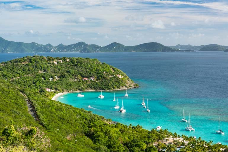 Vacation On Jost Van Dyke White Bay Villas