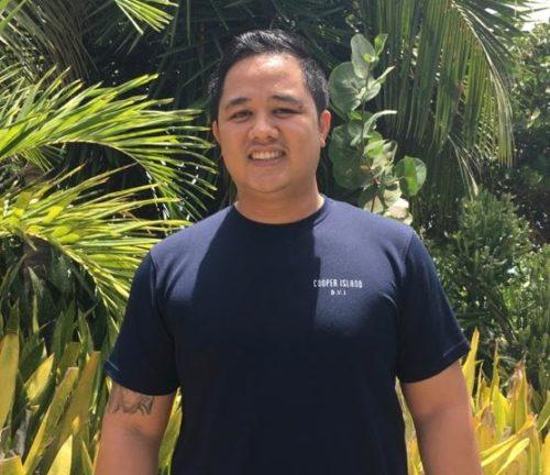 Cooper Island: Jason Mercado @ Cooper Island Beach Club